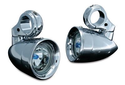 Motorcycle Cruiser Kuryakyn Driving Lights For Engine