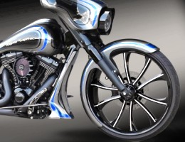 Yamaha RS Warrior Custom Billet Rims